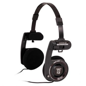 Koss Portapro On Ear High Quality Portable Stereo Headphones Black Beauty